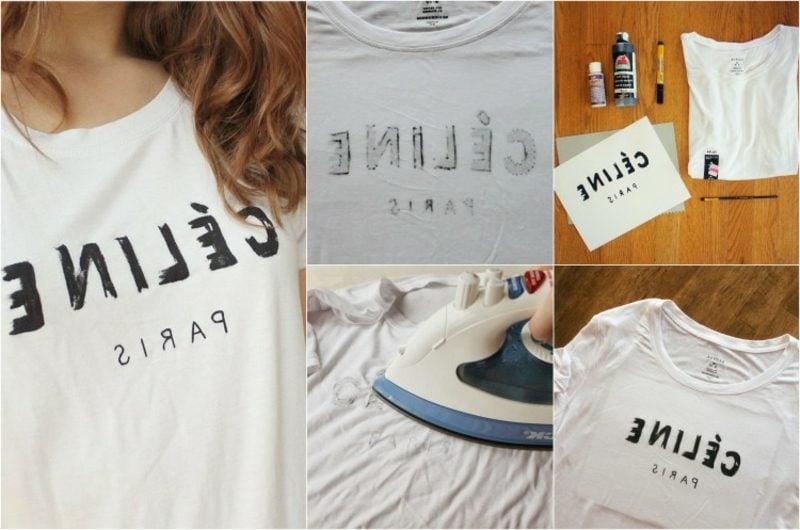 T-Shirts selbst bedrucken Anleitung in Bildern