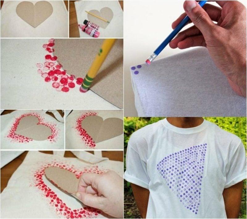 T-Shirts selbst bedrucken Ideen und Inspirationen