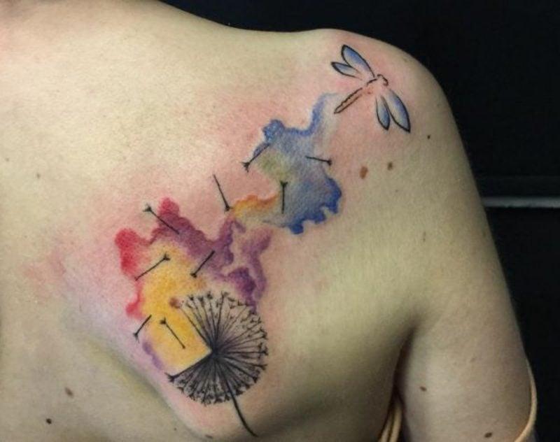 Libelle Tattoo Ideen und Inspirationen