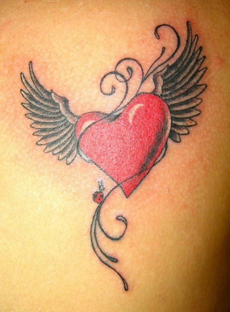Herz Tattoo Ideen und Inspirationen