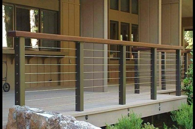 terrassengelander adorable balcony railing design for modern home ideas using wooden exterior