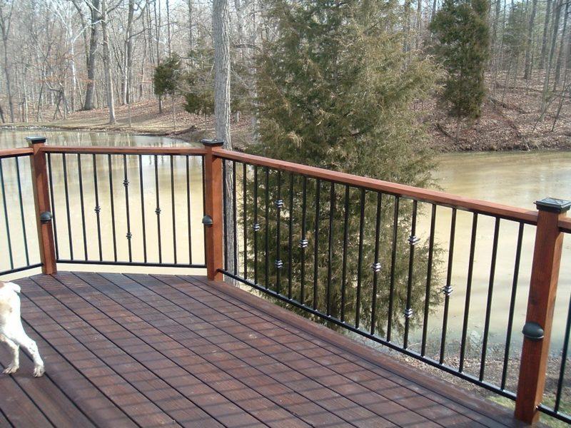 terrassengelander metal railings