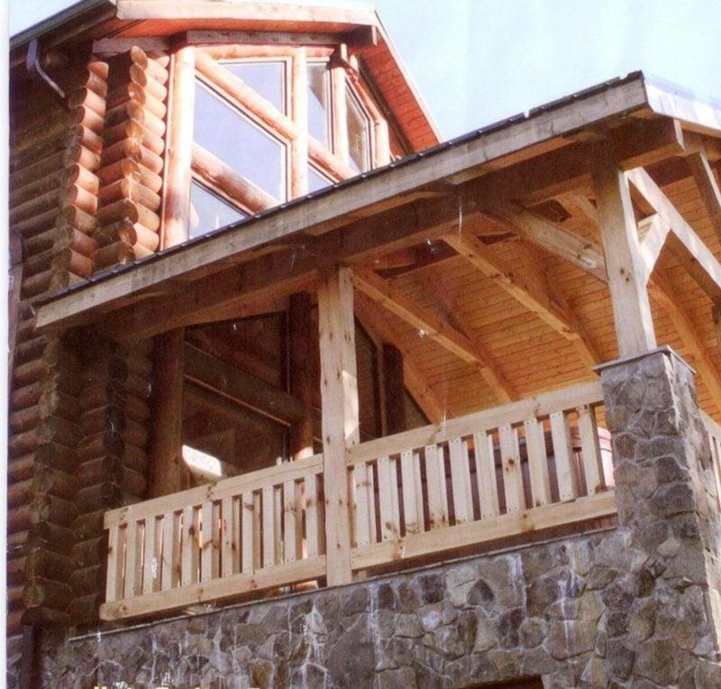 terrassengelander wooden porch railings porch