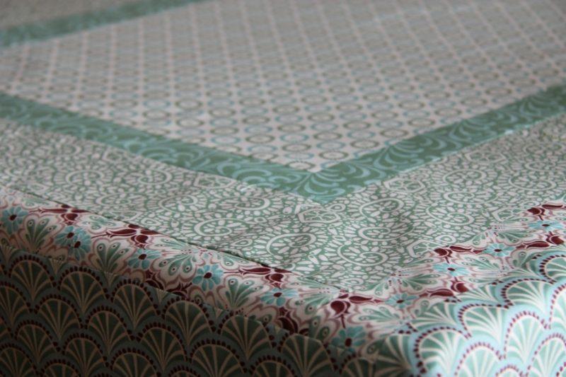 tischdecke nahen patchwork tablecloth
