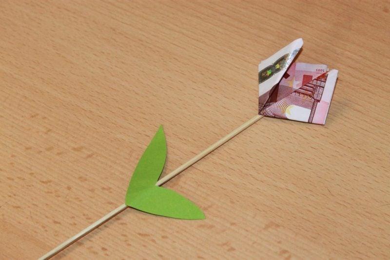 Geldschein Tulpe