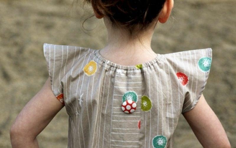 Kinderkleidung nähen Tunika