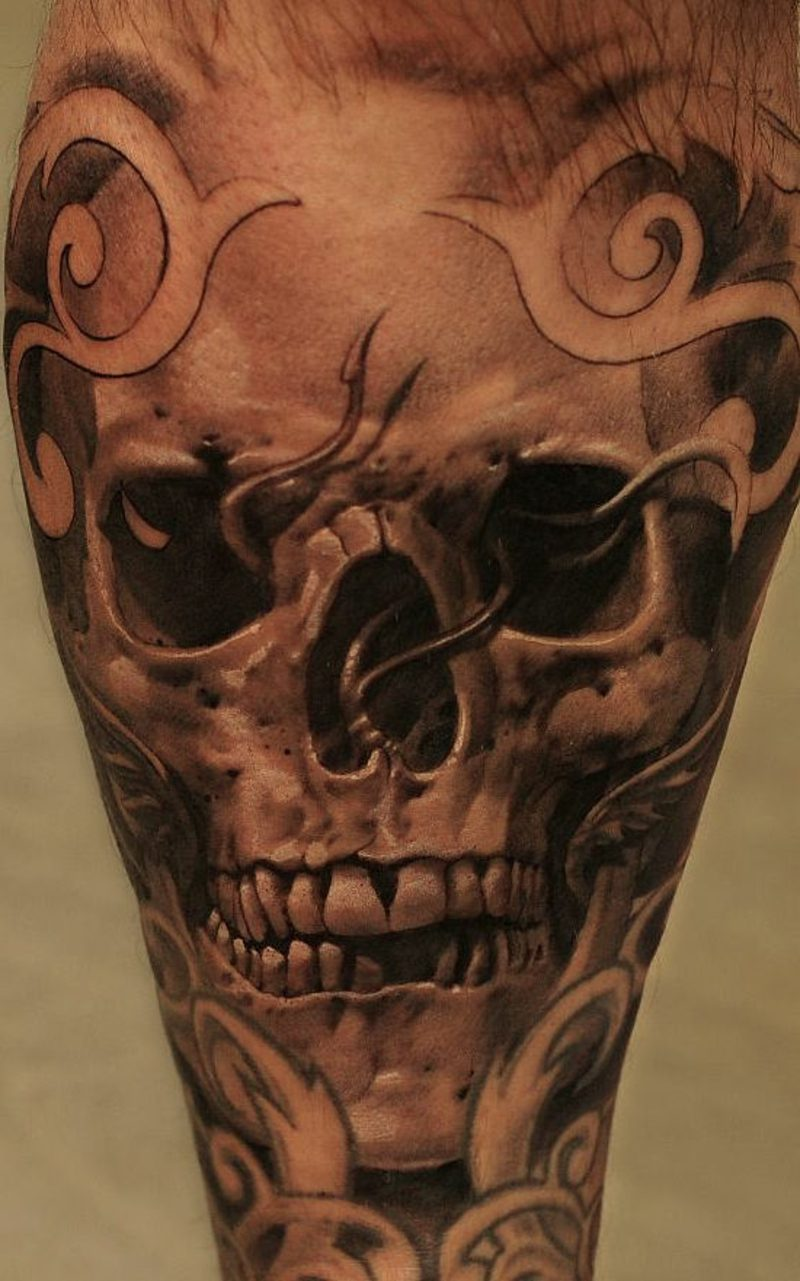 Waden Tattoo