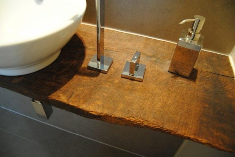 Waschtisch Holz klassisches Design