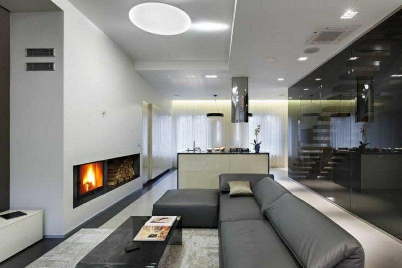 indirekte Beleuchtung Wohnzimmer