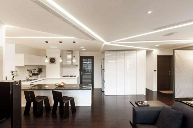 LED Deckenbeleuchtung attraktive Lichteffekte