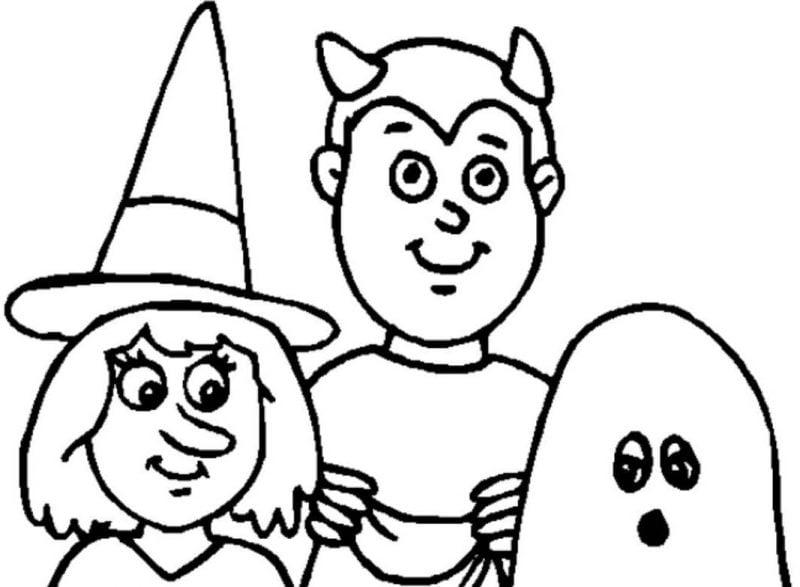 Gestalten Sie Ihr eigenes Malbuch mit unseren Ausmalbilder für Halloween