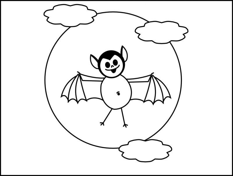Dekorieren Sie Ihre Wohnung mit Ausmalbilder für Halloween von Ihren Kindern