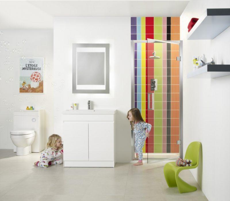 badgetsaltung ideen für gemeinsames badezimmer das bequem ausgestattet ist