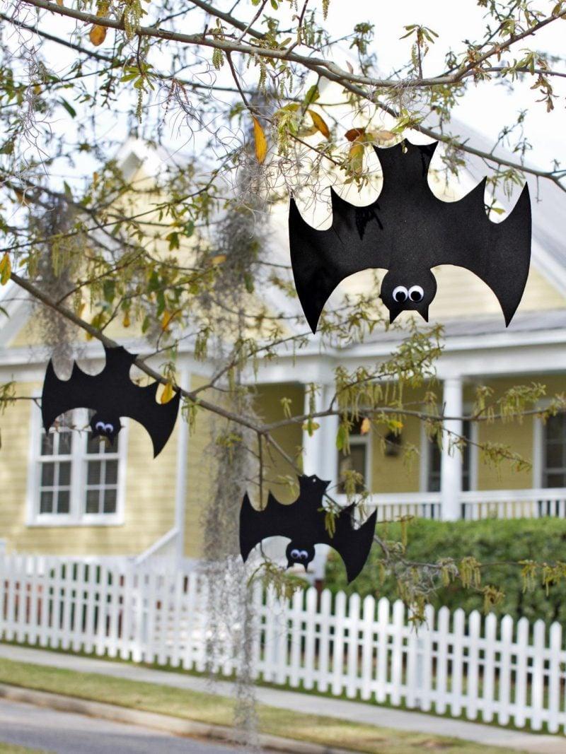 halloween 25 bastelideen bastelvorlagen und anleitungen bastelideen diy halloween zenideen. Black Bedroom Furniture Sets. Home Design Ideas