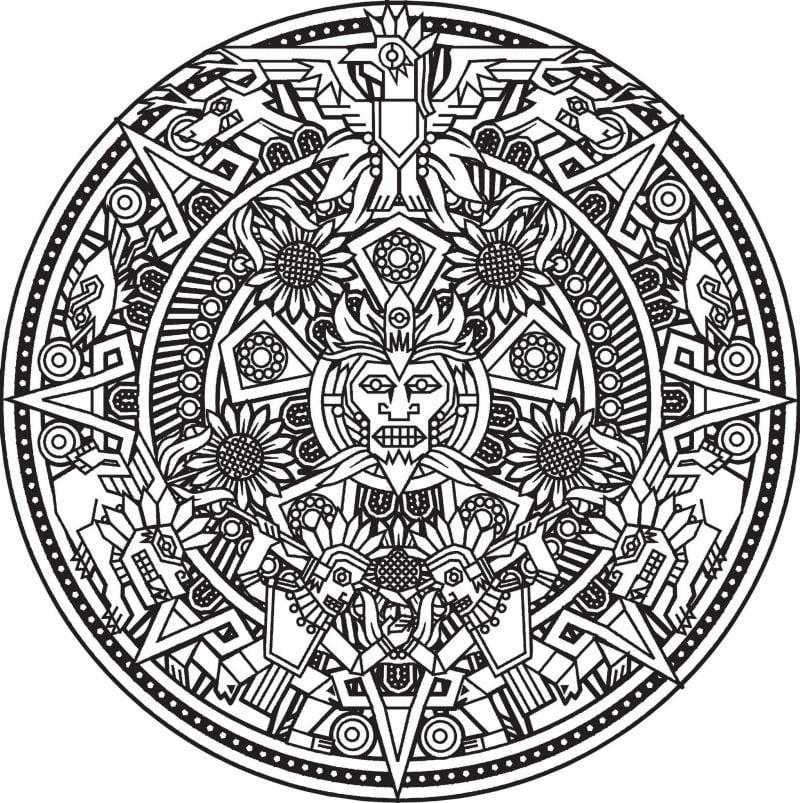 Mandala Bilder zum Ausmalen kostenlos