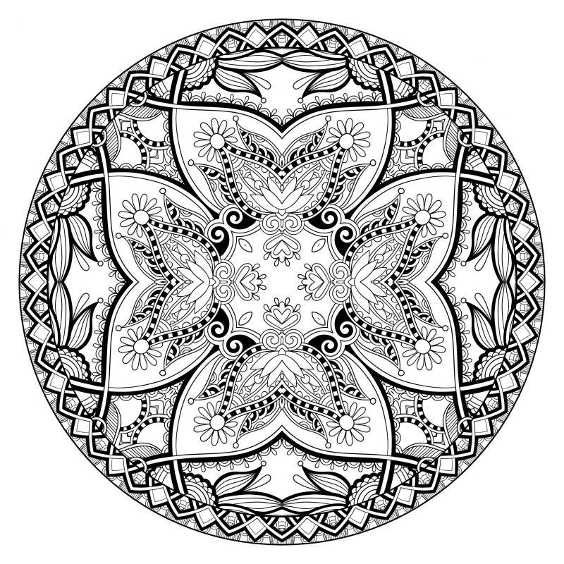 Mandala Bilder zum Ausmalen haben persönliche Bedeutung