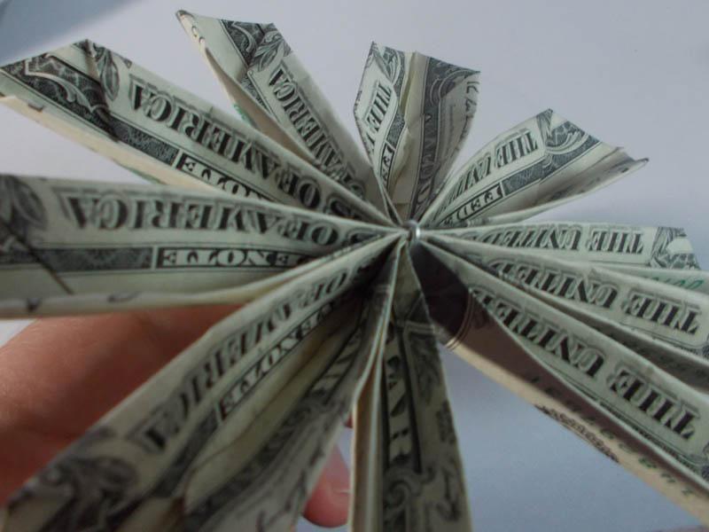 blume geldscheine falten zum selber machen