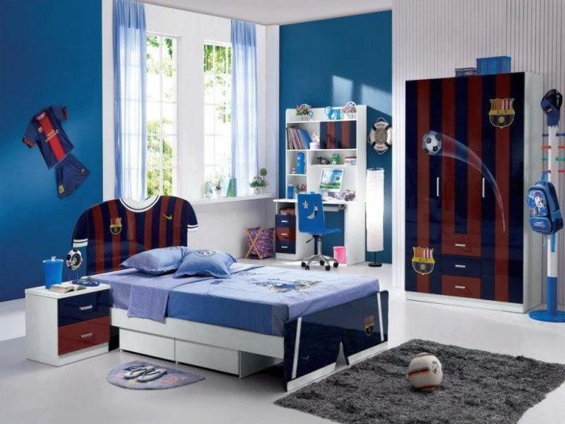 Die coole Bettwäsche für Jungen-Zimmer sind mit Fußball