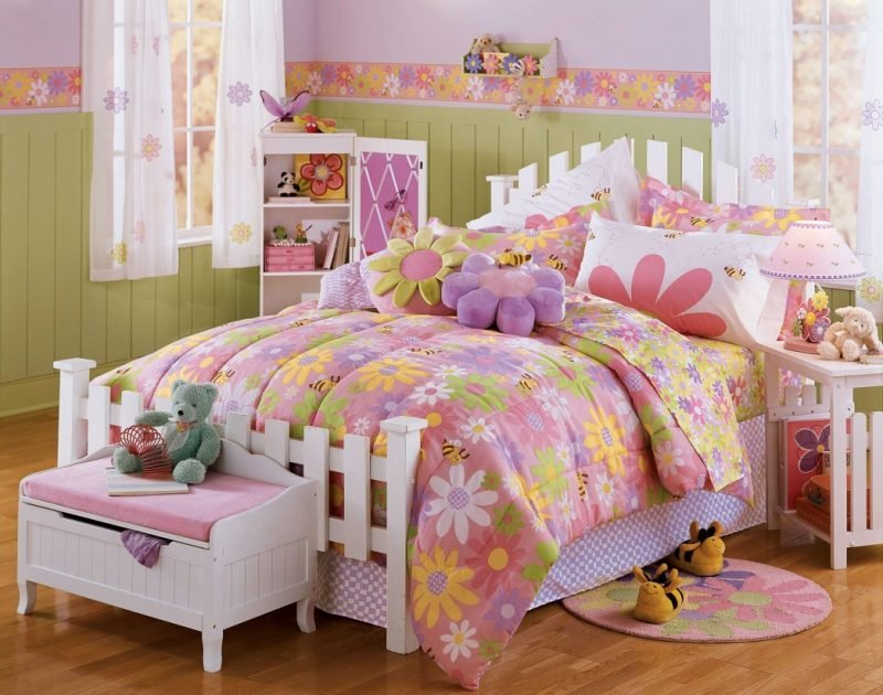 Coole Bettwäsche in Rosa für Mädchen