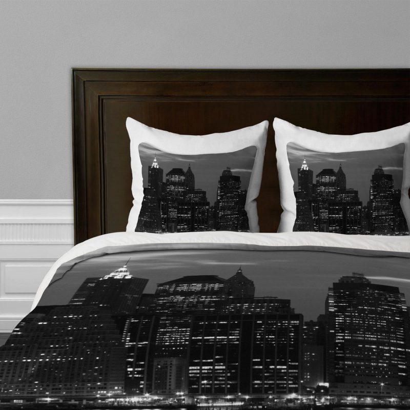 Coole Bettwäsche in Schwarz sind zu einer Trend geworden