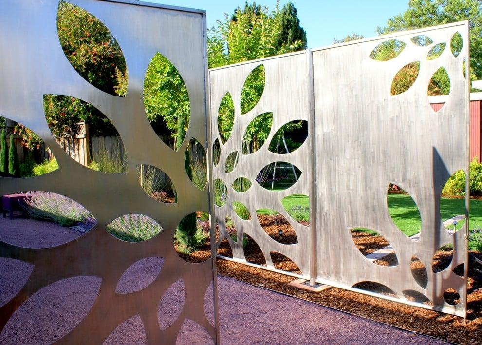 Edelstahl Gartentor: 21 originelle Gestaltungsideen - Deko ...