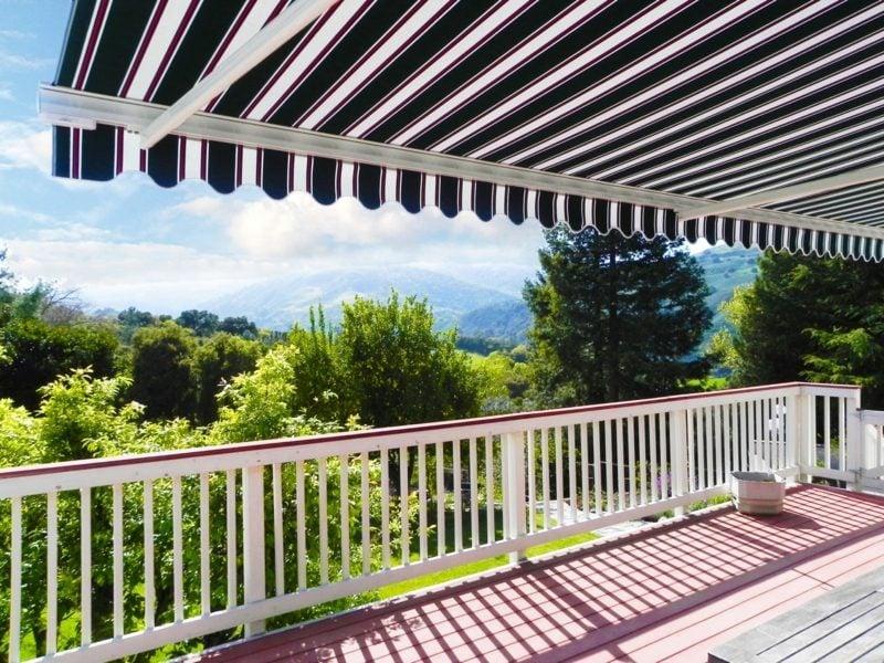 Balkonmarkise elegant