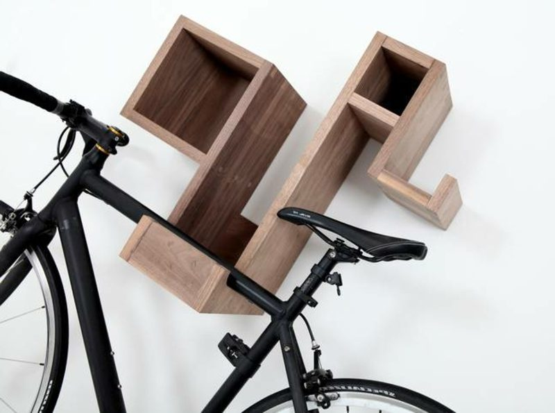 fahrradhalter wand pedal