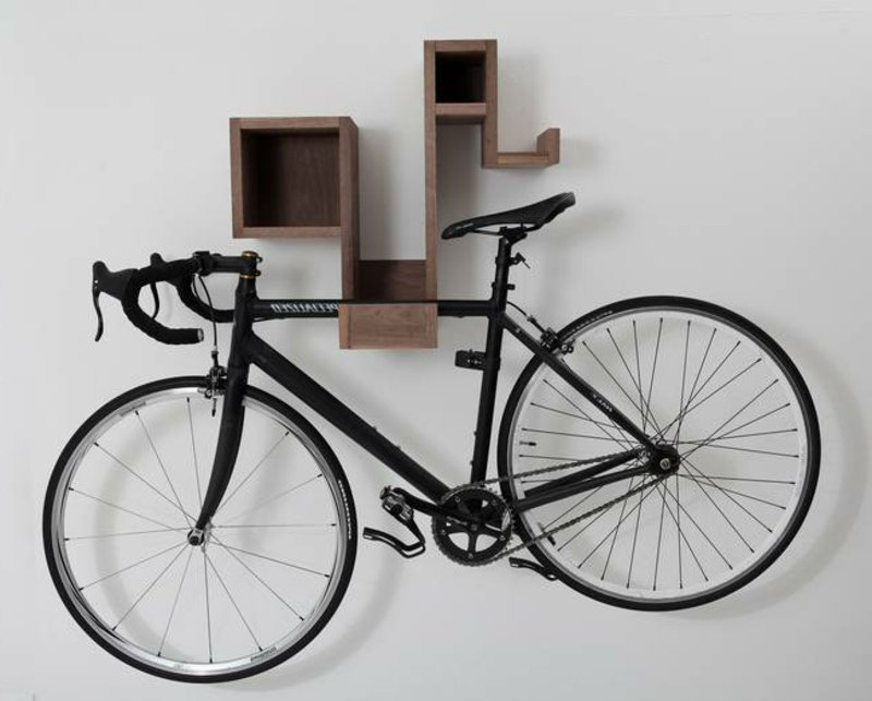 interessante ideen f r fahrradhalter wand deko feiern diy wandverkleidung zenideen. Black Bedroom Furniture Sets. Home Design Ideas
