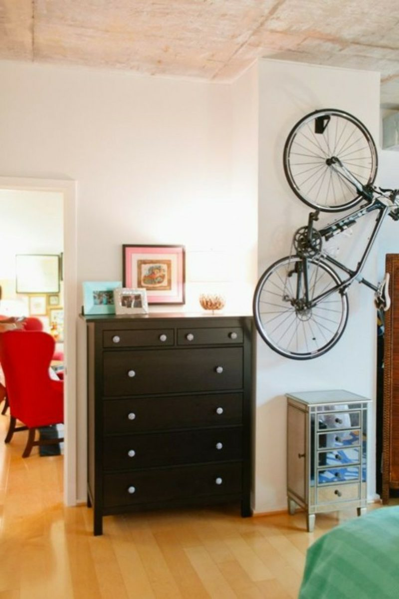 fahrradhalter wand bike stander