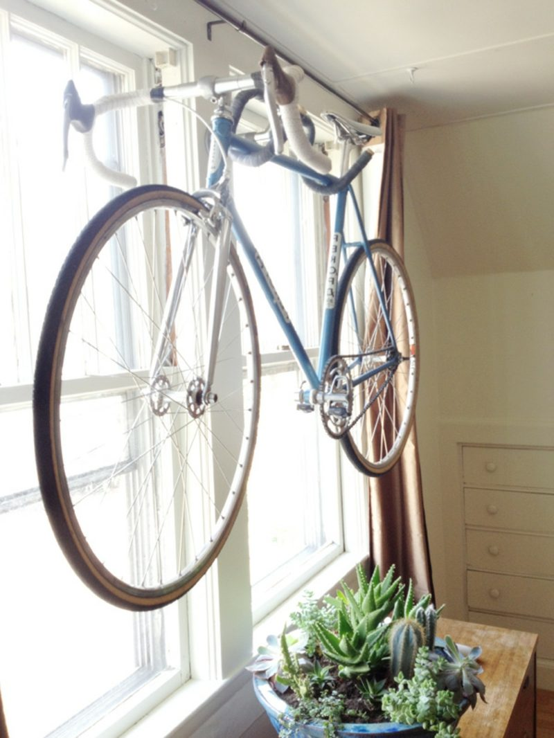 fahrradhalter wand diy wall bike hanger
