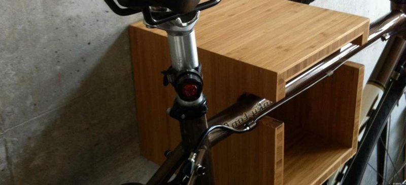 fahrradhalter wand holzkasten