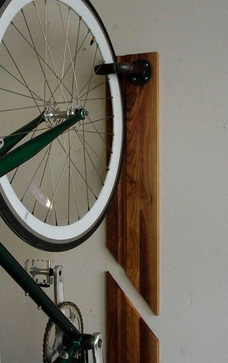 interessante ideen f r fahrradhalter wand deko feiern diy wandverkleidung zenideen. Black Bedroom Furniture Sets. Home Design Ideas
