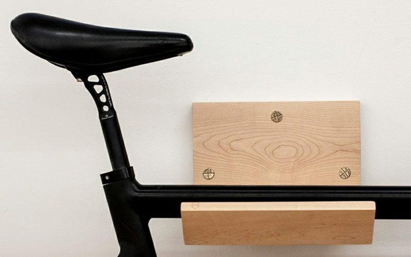 interessante ideen f r fahrradhalter wand deko feiern. Black Bedroom Furniture Sets. Home Design Ideas