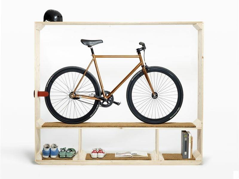 fahrradhalter wand shoesbooksandabike