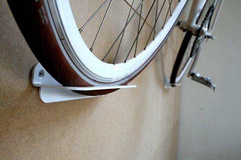 fahrradhalter wand schlicht und fest