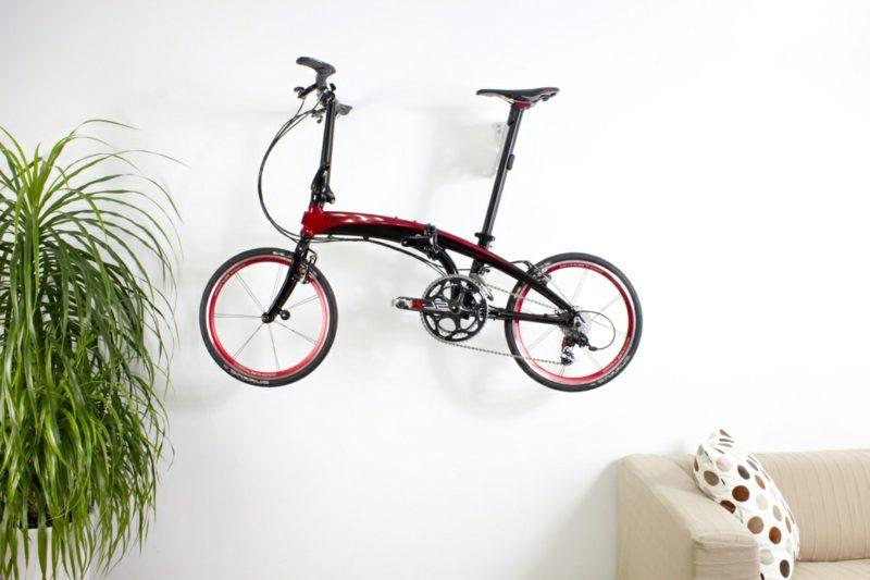 fahrradhalter wand tern perch