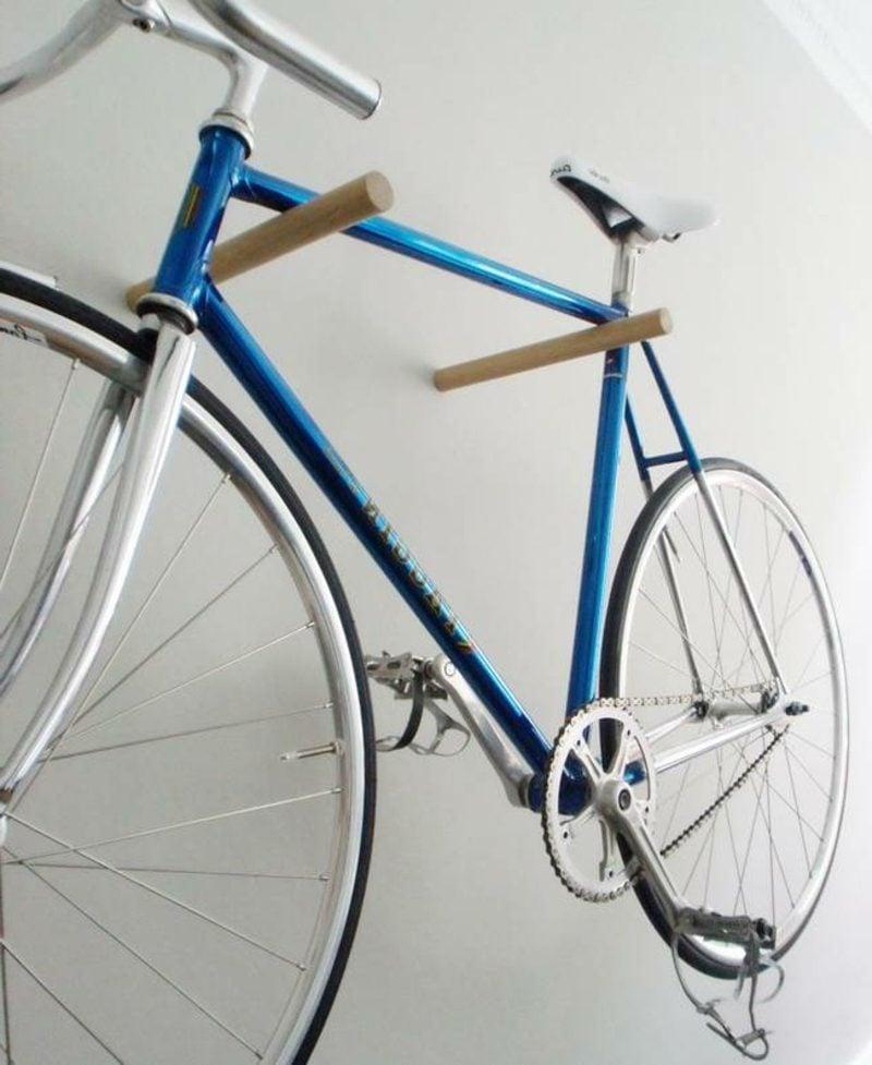 fahrradhalter wand wandhacken