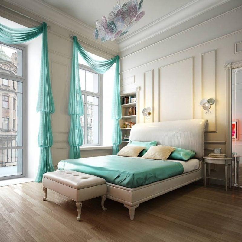 Für heller Zimmer entscheiden Sie für Fenstergestaltung mit dekorativen Vorhänge
