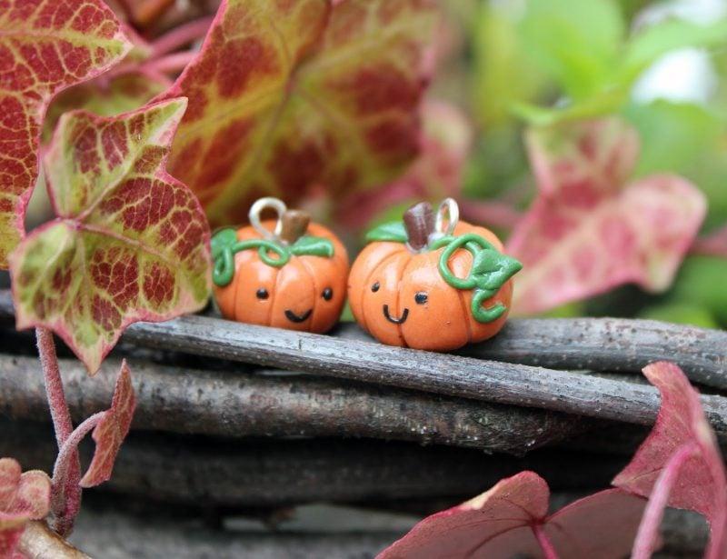 Fimo Ideen für Halloween: Anleitung für ein Kürbis