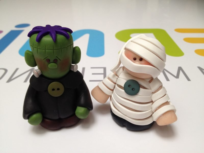 Fimo Ideen für kreative Halloween Deko