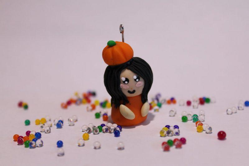 Fimo Ideen für Halloween mit höher Schwierigkeit