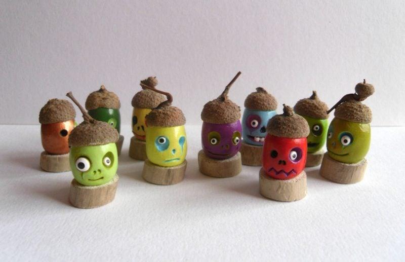 Fimo Ideen für Halloween Tischdeko