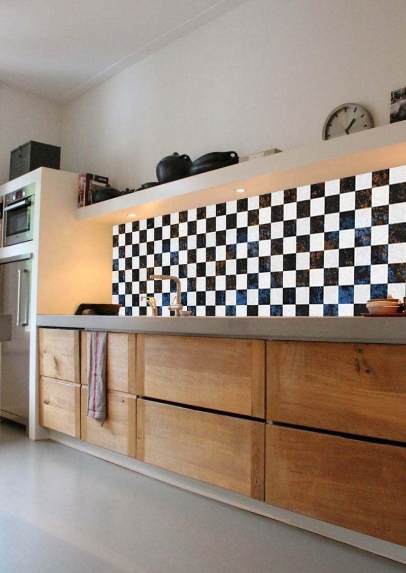 folie kuchenruckwandsetzt einen besonderen highlight in der küche