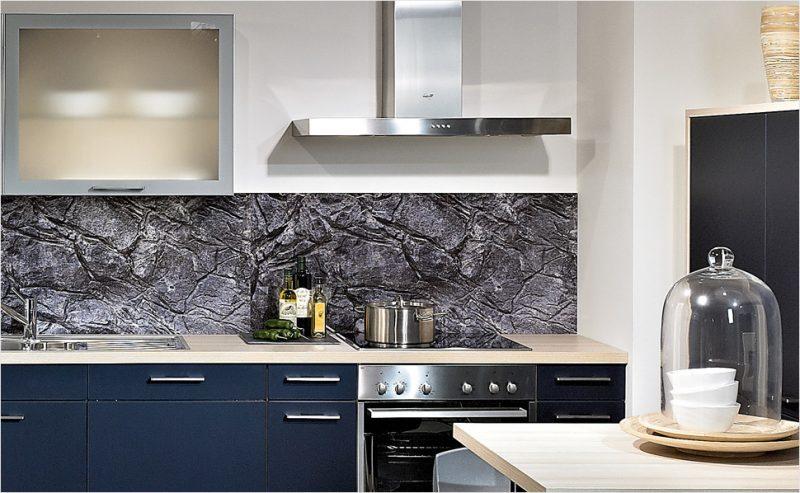 folie kuchenruckwand in steinoptik bring klasse mit sich