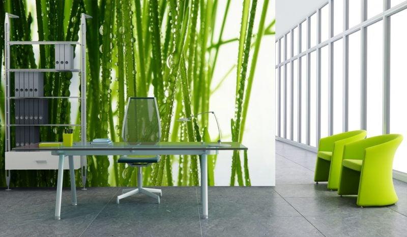 farben von fototapeten auf einrichtung und deko abstimmen - Einfache Dekoration Und Mobel Individuelle Fototapeten Fuer Die Wohnung