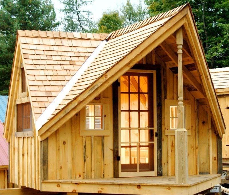 Gartenhütten aus Holz