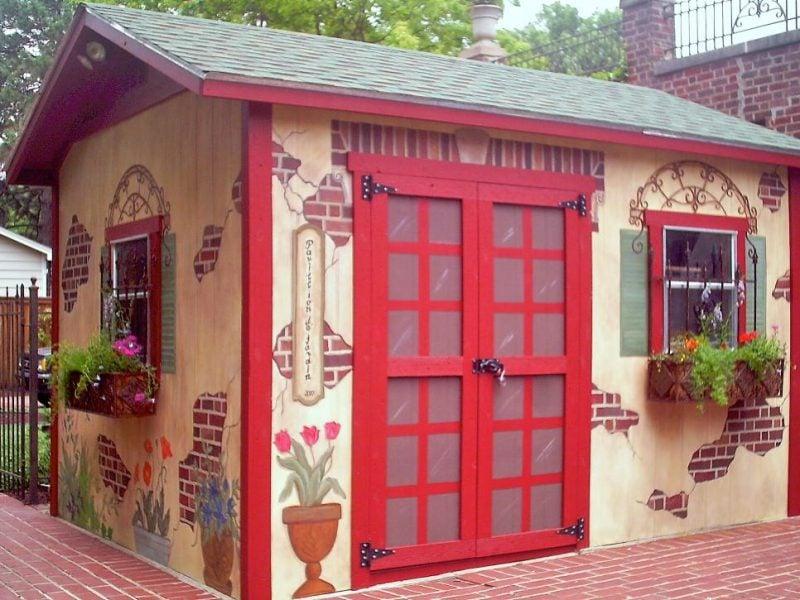 Bunte Gartenhütten für bessere Stimmung im Garten