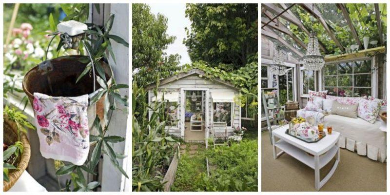 Gartenhütten mit charmanter Ausstrahlung