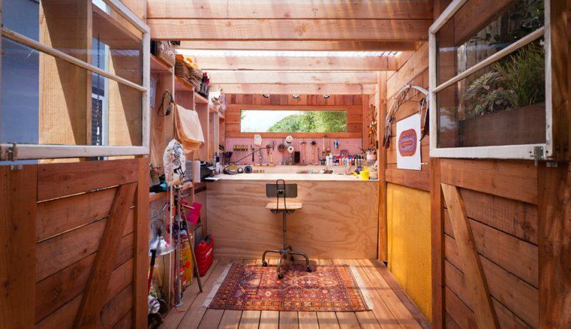 Gartenhütten sind der beste Ort für Handwerker