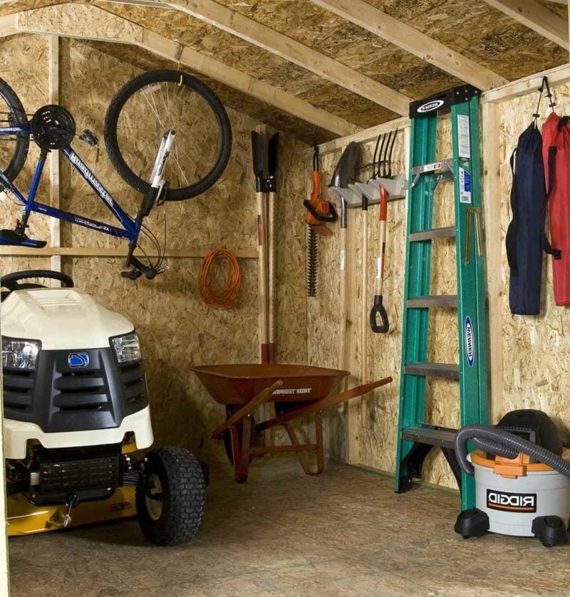 Sie suchen nach einem passenden Ort für Fahrrad - natürlich in Gartenhütten